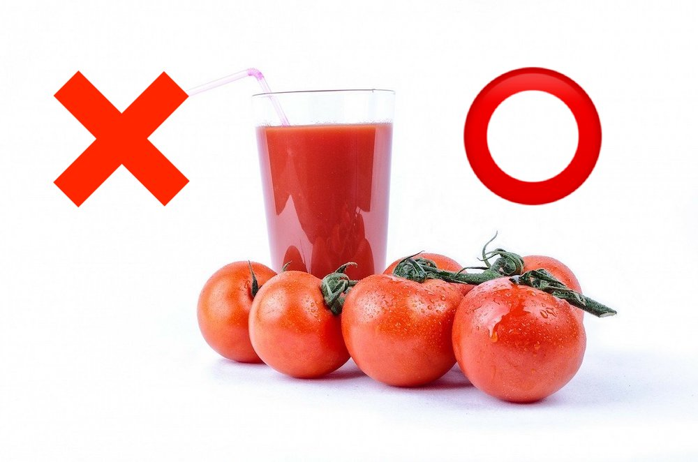 トマトジュースは体に良い?デメリットについて