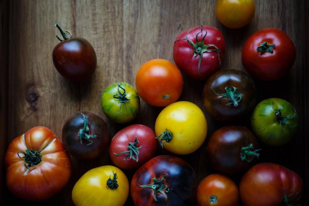 トマトの様々な【色】の種類についてまとめてみた。