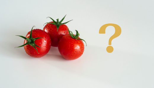 【疑問】トマトって野菜?フルーツ?調べてみた